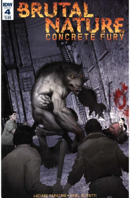 Brutal Nature Concrete Fury #4 [IDW Comic] THUMBNAIL