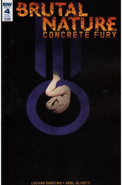 Brutal Nature Concrete Fury #4 Subscription Cover [IDW Comic] THUMBNAIL