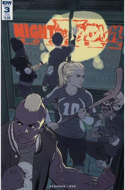 Night Owl Society #3 Subscription Cover [IDW Comic] THUMBNAIL
