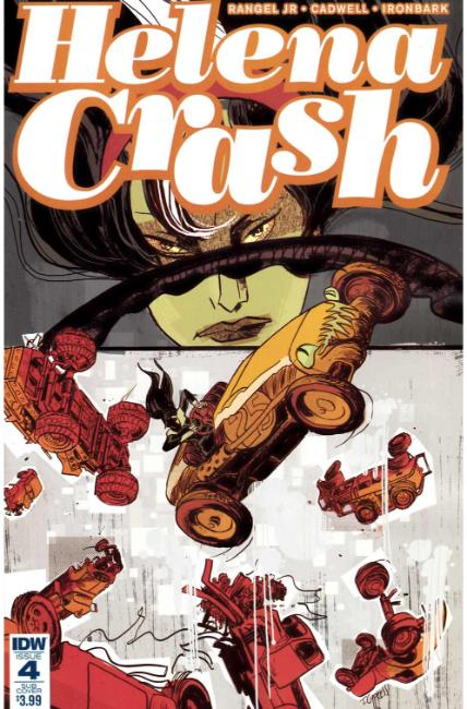 Helena Crash #4 Subscription Cover [IDW Comic] THUMBNAIL