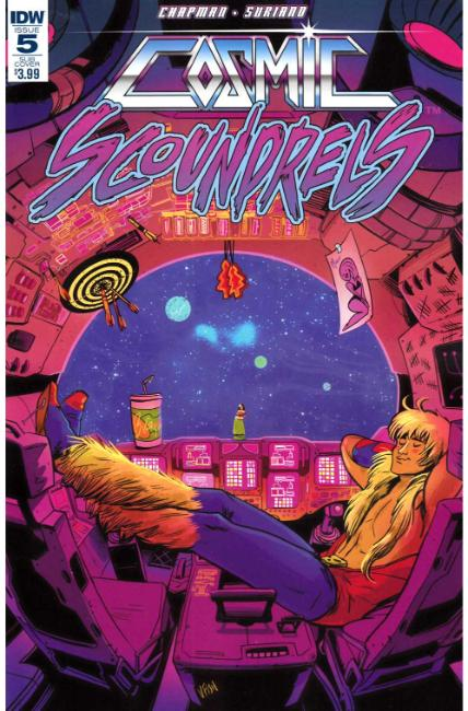 Cosmic Scoundrels #5 Subscription Cover [IDW Comic] THUMBNAIL