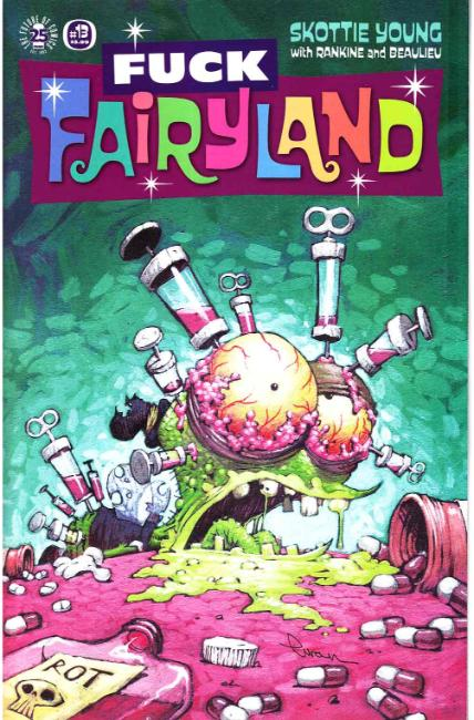 I Hate Fairyland #13 F*ck (Uncensored) Fairyland Cover [Image Comic] THUMBNAIL