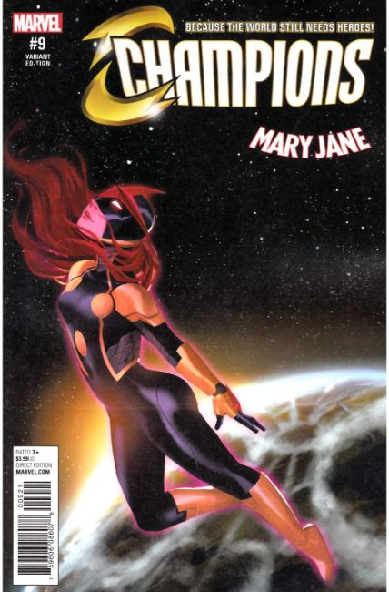 Champions #9 Chen Mary Jane Variant Cover [Marvel Comic] THUMBNAIL