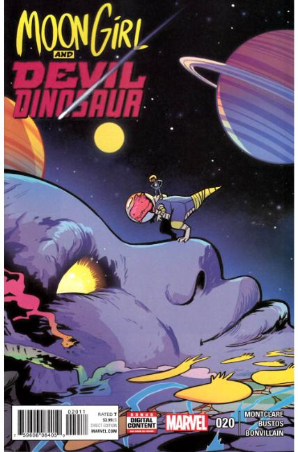 Moon Girl and Devil Dinosaur #20 [Marvel Comic]