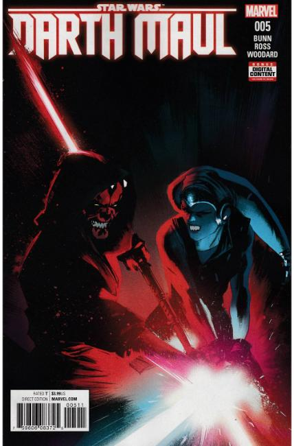 Star Wars Darth Maul #5 [Marvel Comic]