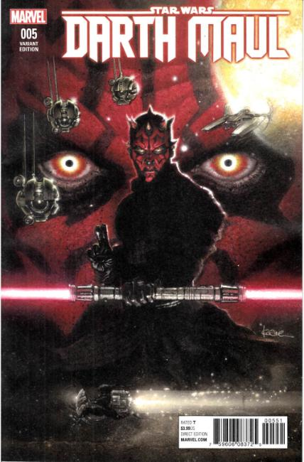 Star Wars Darth Maul #5 Andrews Variant Cover [Marvel Comic] THUMBNAIL