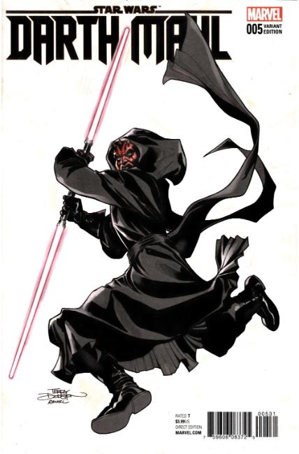 Star Wars Darth Maul #5 Dodson Variant Cover [Marvel Comic] THUMBNAIL