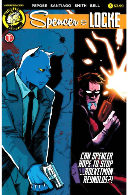 Spencer and Locke #3 Cover A [Action Lab Comic] THUMBNAIL