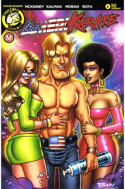 Amerikarate #4 Cover C [Action Lab Comic] THUMBNAIL
