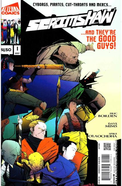 Scrimshaw #1 [Alterna Comic] LARGE
