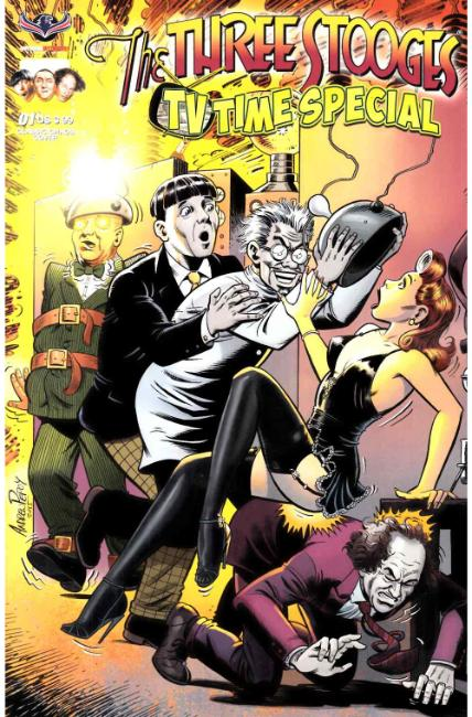Three Stooges TV Time (One Shot) Classic Chaos Pepoy Cover [American Myth Comic] THUMBNAIL