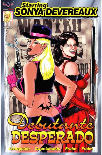 Starring Sonya Devereaux Debutante Desperado [American Mythology Comic] THUMBNAIL