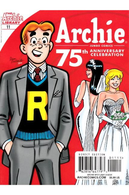 Archie 75th Anniversary Digest #11 Very Fine Minus (7.5) [Archie Comic] THUMBNAIL