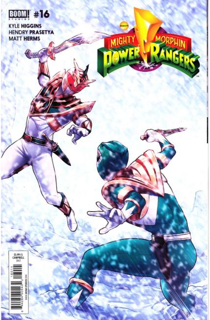 Mighty Morphin Power Rangers #16 [Boom Comic] THUMBNAIL