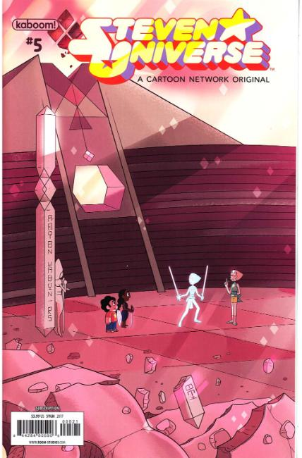 Steven Universe Ongoing #5 Subscription Cover [Boom Comic] THUMBNAIL
