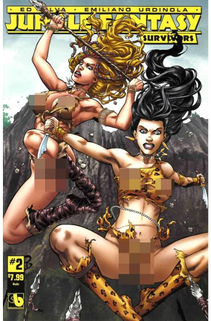 Jungle Fantasy Survivors #2 Nude Cover [Boundless Comic] THUMBNAIL