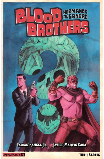 Blood Brothers #1 [Dynamite Comic] THUMBNAIL
