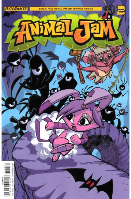Animal Jam #2 Cover A [Dynamite Comic] THUMBNAIL