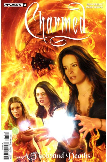 Charmed #4 Cover A [Dynamite Comic]