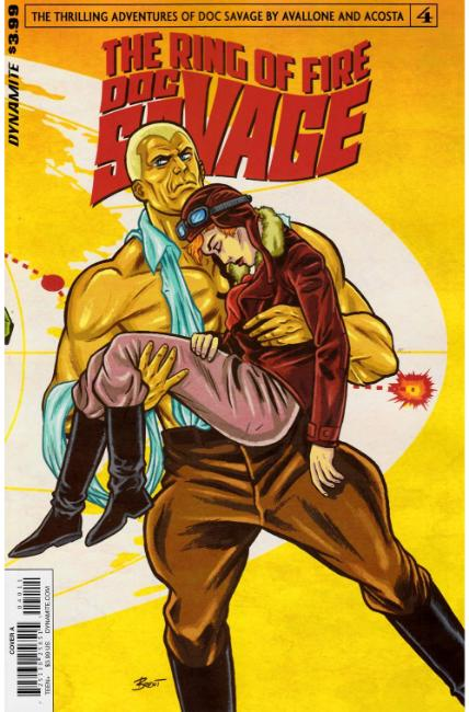 Doc Savage Ring of Fire #4 Cover A [Dynamite Comic] THUMBNAIL