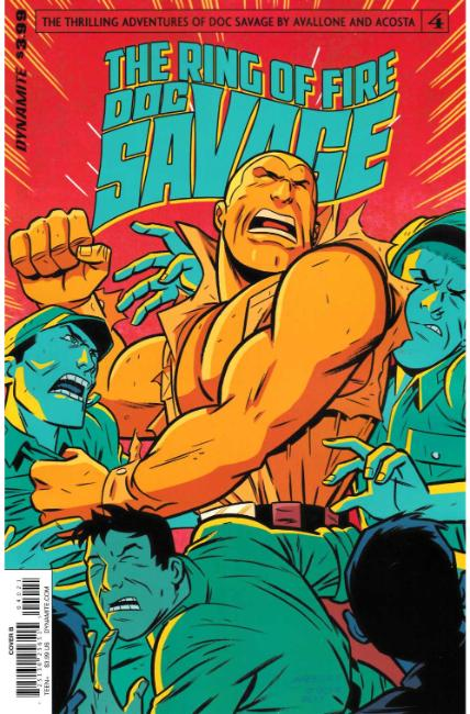 Doc Savage Ring of Fire #4 Cover B [Dynamite Comic]
