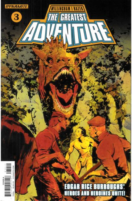 Greatest Adventure #3 Cover A [Dynamite Comic] THUMBNAIL