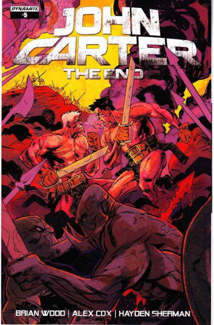 John Carter the End #5 Cover A [Dynamite Comic] THUMBNAIL