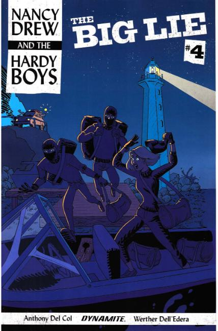 Nancy Drew Hardy Boys #4 Cover B [Dynamite Comic] THUMBNAIL