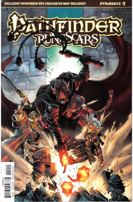 Pathfinder Runescars #2 Cover A [Dynamite Comic] THUMBNAIL