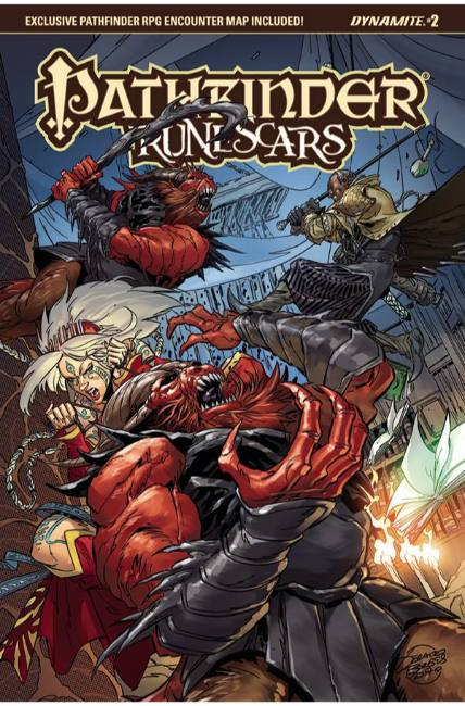 Pathfinder Runescars #2 Cover C [Dynamite Comic] THUMBNAIL
