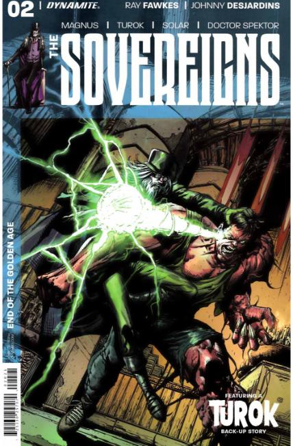 Sovereigns #2 Cover B [Dynamite Comic] THUMBNAIL