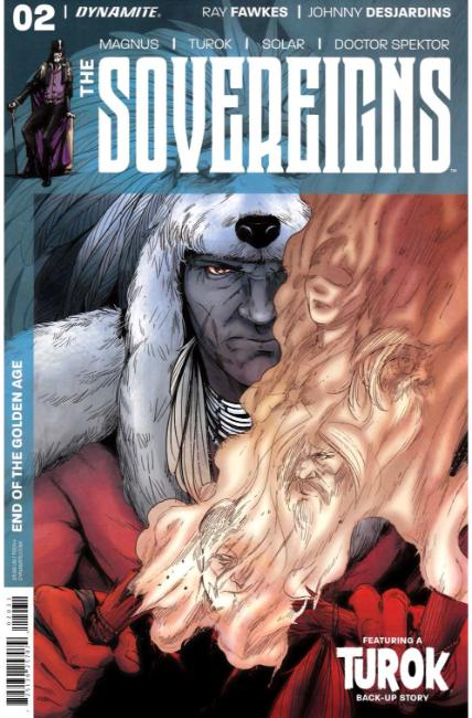 Sovereigns #2 Cover C [Dynamite Comic] THUMBNAIL