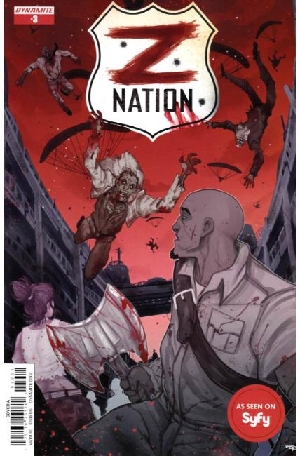 Z Nation #3 Cover A [Dynamite Comic] THUMBNAIL