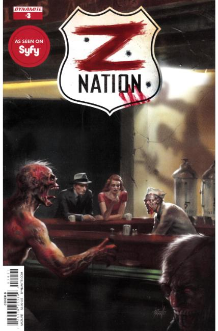 Z Nation #3 Cover B [Dynamite Comic] THUMBNAIL