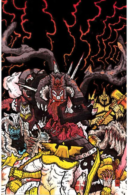 Gwar Orgasmageddon #1 DF Exclusive Wyman Virgin Cover [Dynamite Comic]_THUMBNAIL