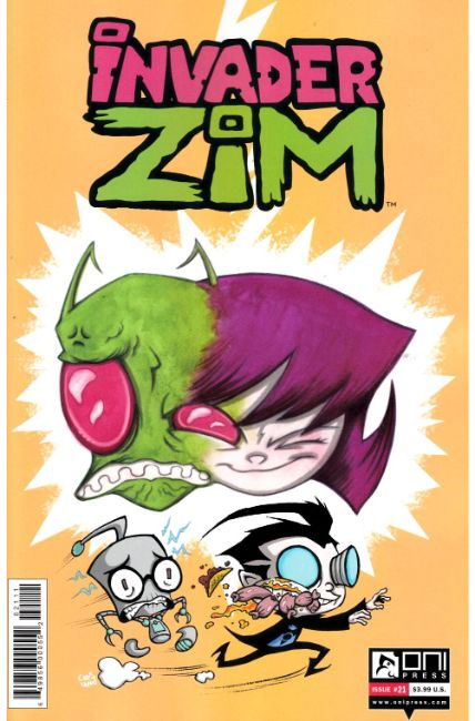 Invader Zim #21 [Oni Press Comic] THUMBNAIL