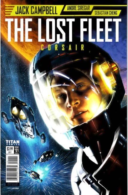 Lost Fleet Corsair #1 Cover A [Titan Comic]