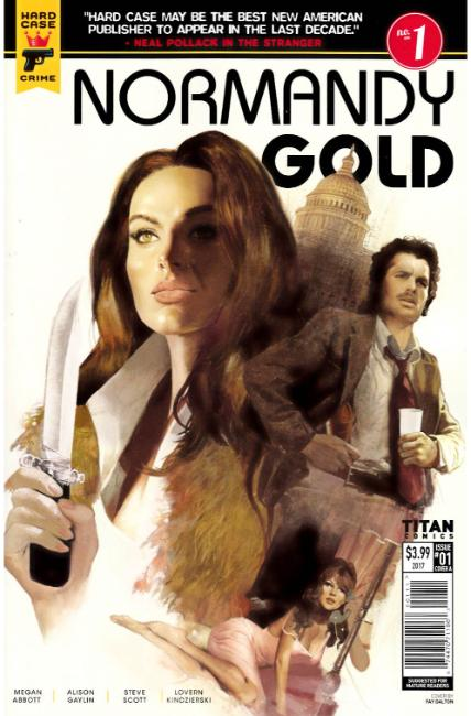 Normandy Gold #1 Cover A [Titan Comic] THUMBNAIL