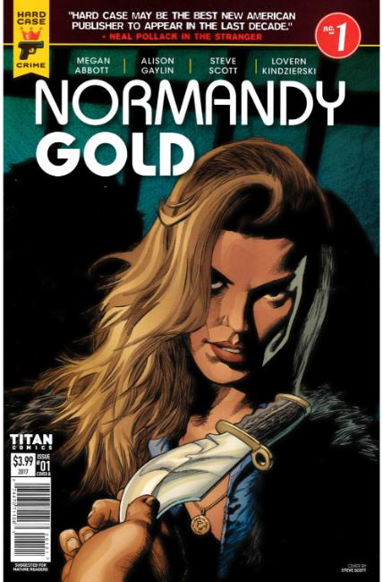 Normandy Gold #1 Cover B [Titan Comic] THUMBNAIL
