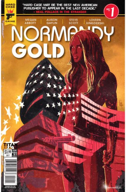 Normandy Gold #1 Cover D [Titan Comic] THUMBNAIL