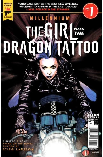 Millennium Girl With The Dragon Tattoo #1 Cover B [Titan Comic]