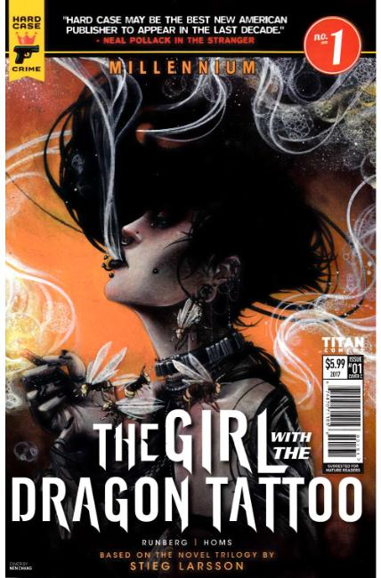 Millennium Girl With The Dragon Tattoo #1 Cover C [Titan Comic]