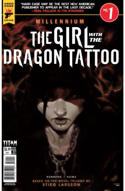 Millennium Girl With The Dragon Tattoo #1 Cover D [Titan Comic]