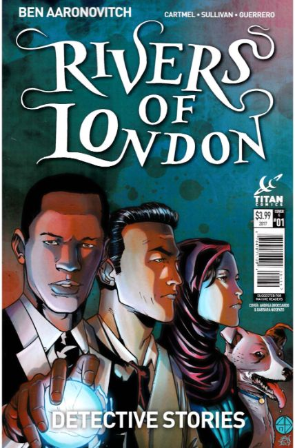 Rivers of London Detective Stories #1 Cover C [Titan Comic]