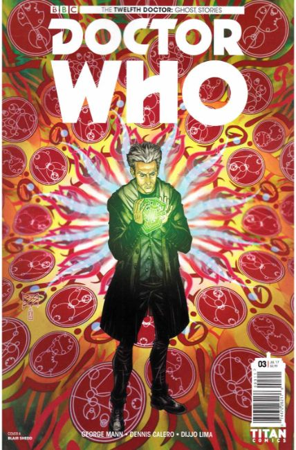Doctor Who Ghost Stories #3 Cover A [Titan Comic] THUMBNAIL