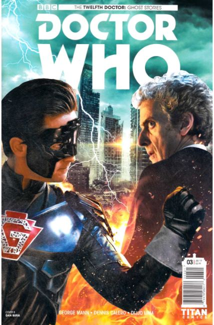 Doctor Who Ghost Stories #3 Cover B [Titan Comic] THUMBNAIL