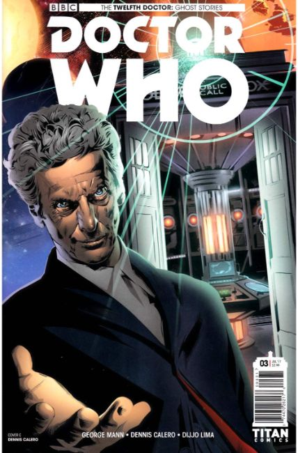 Doctor Who Ghost Stories #3 Cover C [Titan Comic] THUMBNAIL