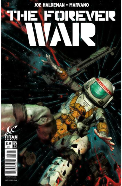Forever War #5 Cover A [Titan Comic]