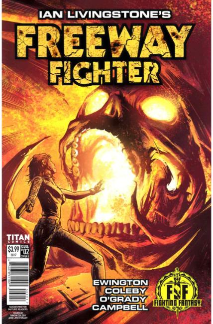 Ian Livingstone Freeway Fighter #2 Cover B [Titan Comic]_THUMBNAIL