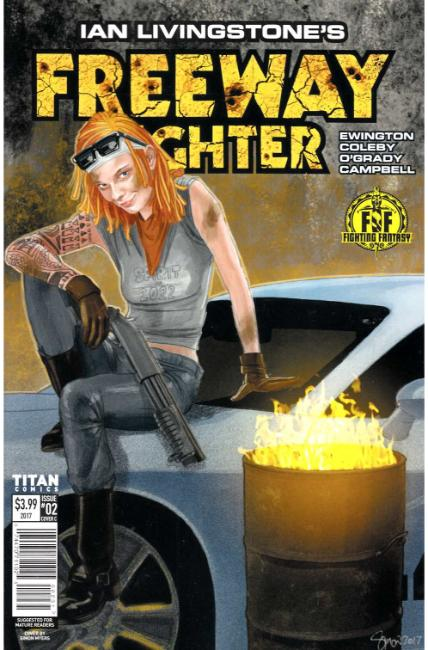Ian Livingstone Freeway Fighter #2 Cover C [Titan Comic]_THUMBNAIL